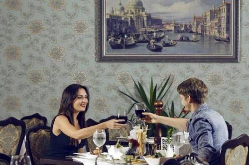 رستوران ایتالیایی Veneto Restaurant در هتل 5 ستاره ونیزیا پالاس آنتالیا