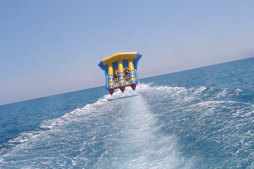 تفریحات ساحلی در هتل 5 ستاره گرند رینگ آنتالیا