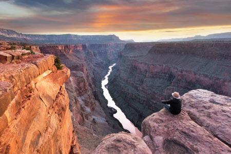 گراند کانیون از مکانهای طبیعی و دیدنی جهان