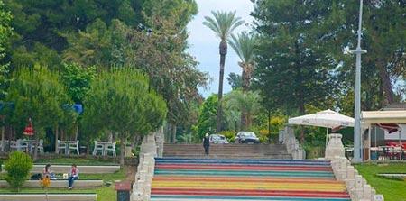 پارک Karaalioglu، از جاذبه های شهر آنتالیای ترکیه محسوب می شود