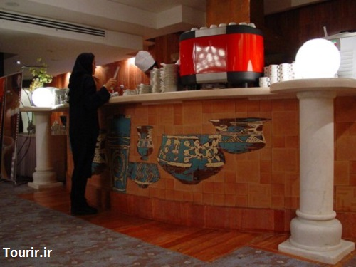 رستوران و کافی شاپ هتل پارس شیراز