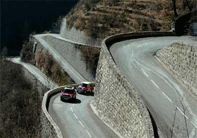 زیباترین جادههای جهان در یک نگاه