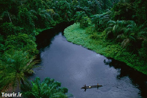 جاذبه های گردشگری ، حوضه کنگو