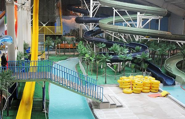 پارک آبی موج های خروشان شهر مشهد