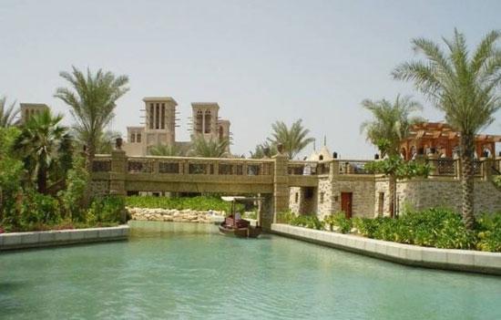 یزد و ونیز ایتالیا در دبی