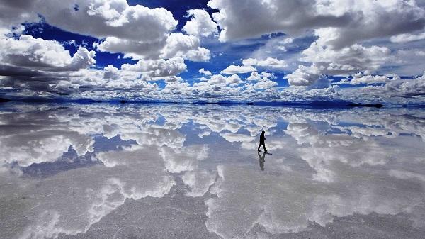 دریاچه سالار دی ایونی ، بزرگترین آینه جهان