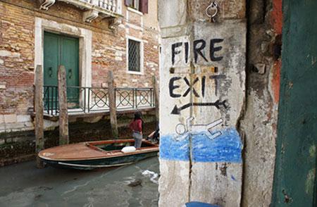 ترس از آب: ونیز، ایتالیا