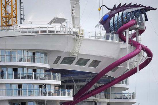 بزرگترین کشتی تفریحی