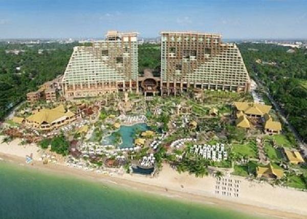هتل پنج ستاره سنترا گراند میراج پاتایا
