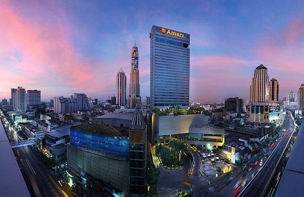 هتل پنج ستاره آماری واترگیت بانکوک