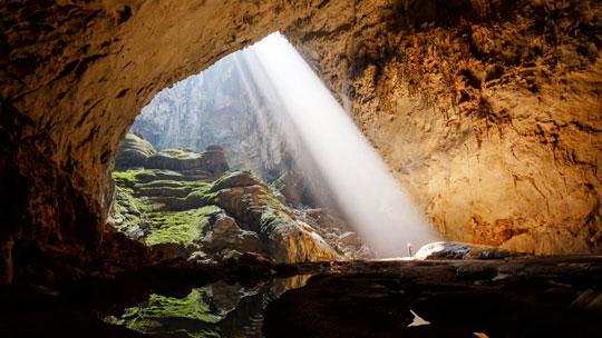 دنیای زیبای کشف شده در زیر زمین