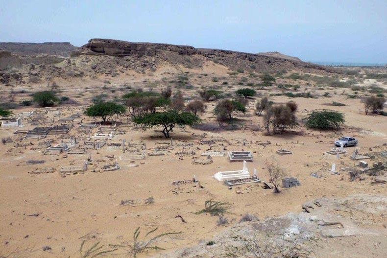مکانی مخوف به نام قبرستان جن در سیستان و بلوچستان