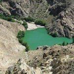 دریاچه ایی که بر اثر زلزله ایجاد شد / عکس