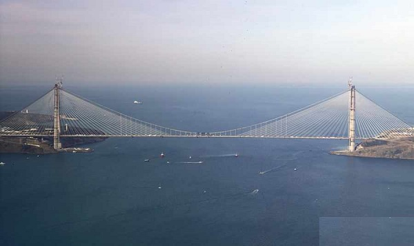 امروز پل سوم استانبول ترکیه افتتاح شد
