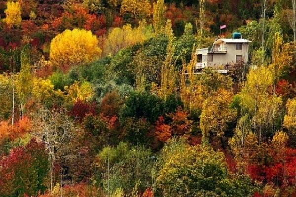 مراد بیگ ، بزرگترین دره الوند کوه