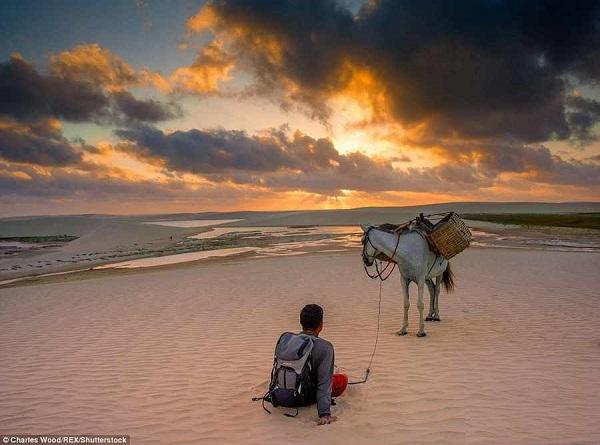 پدیده ای حیرت انگیز در برزیل / دریایی از شن و ماسه
