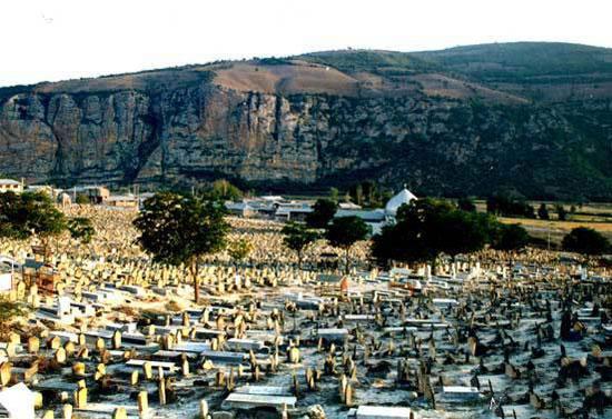 سپیده چاه ، قبرستان اسرار آمیز در ایران