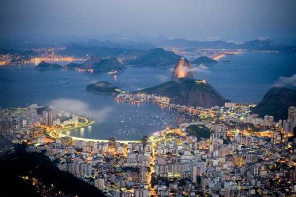 بندر ریو دو ژانیرو (Harbor of Rio de Janeiro)