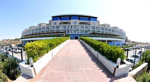 ورودی هتل آف باکو