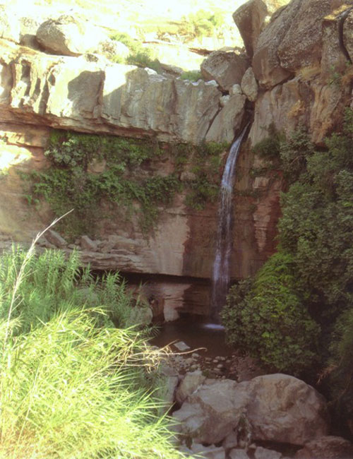 آبشار ماربره ، یکی از دیدنی ترین آبشار ها ایلام