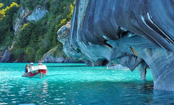 غارهای دیدنی و مرمرین شیلی