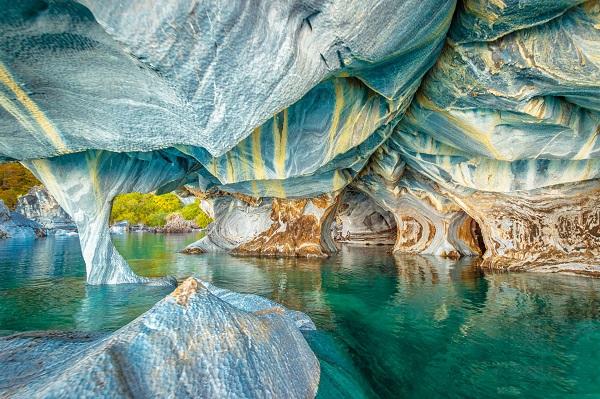 غارهای مرمرین شیلی