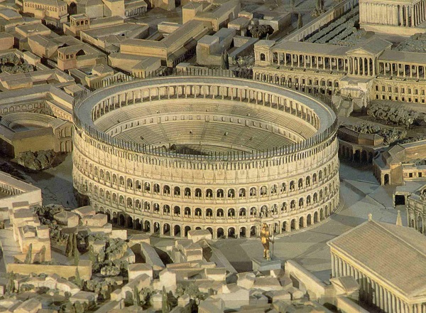 کولوسئوم ، تماشاخانه مشهور و خونین رومی ها