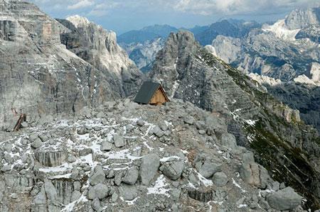 کلبه کوهستانی