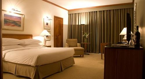 اتاق خواب های هتل حیاط ریجنسی