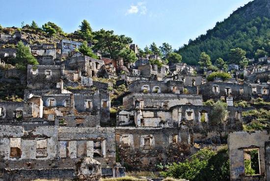 کایاکوی یونانی ، شهر ارواح در ترکیه