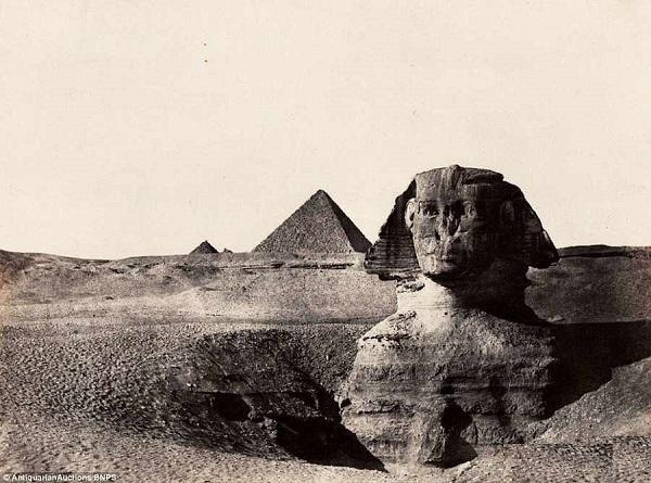 به مزایده گذاشته شدن نخستین عکس های مصر باستان
