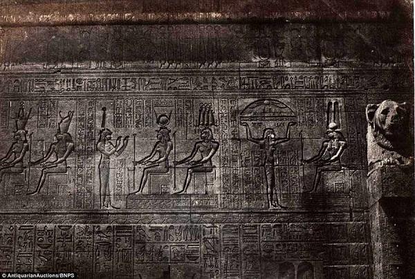 اولین عکس های مصر باستان