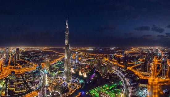 برج خلیفه، دبی