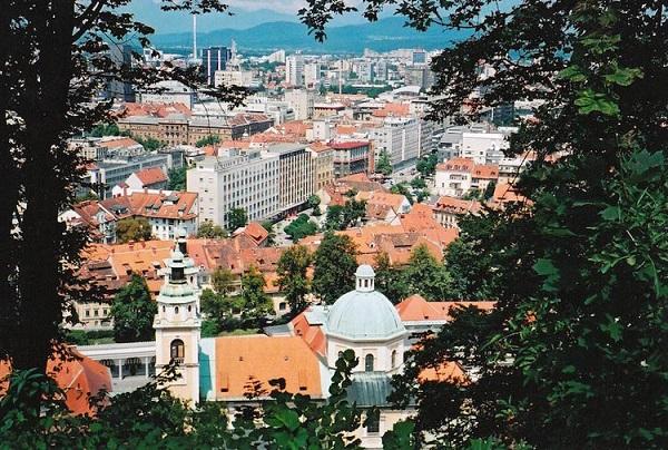 شهر لیوبلیانا پایتخت اسلوونی