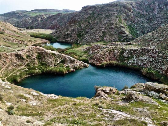 دریاچه سیاه گاو در ایلام
