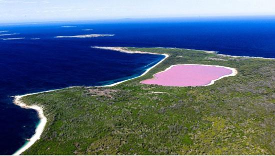 لیک هیلیر، استرالیا (Lake Hillier, Australia)