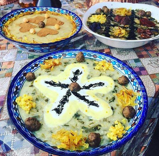 آش ماست زنجان