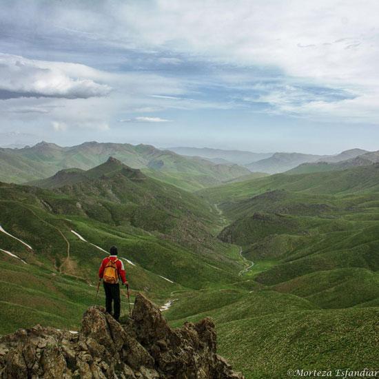 منطقه کوهستانی سرشاخان در جنوب آذربایجان غربی