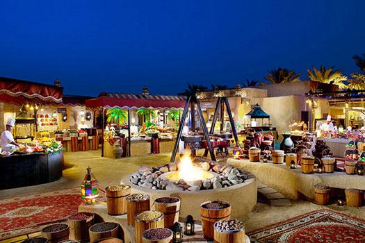 رستوران AL hadheerah دبی