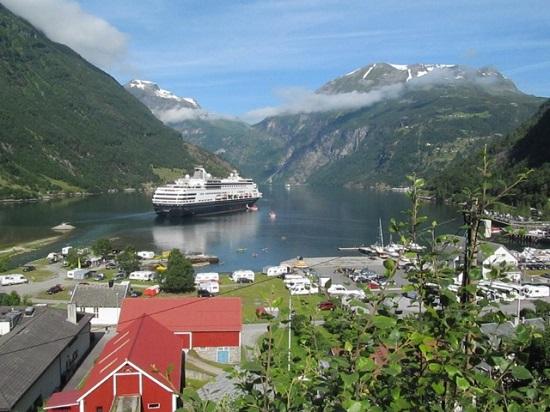 Geirangerfjord ، آبدره رویایی در غرب نروژ