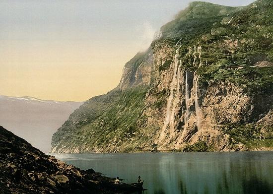 گیرانگرفیورد ، آبدره رویایی در غرب نروژ
