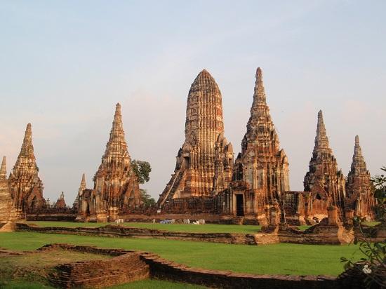 جاذبه های گردشگری تایلند ، شهر سوخته آیوتایا