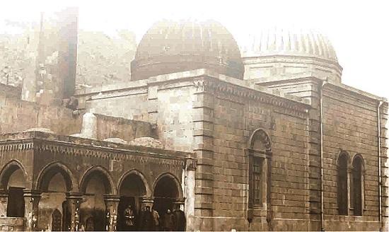 تصویری قدیمی از مسجد در سال 1911