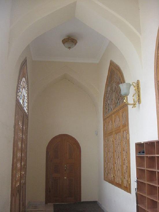 نمایی از داخل مسجد