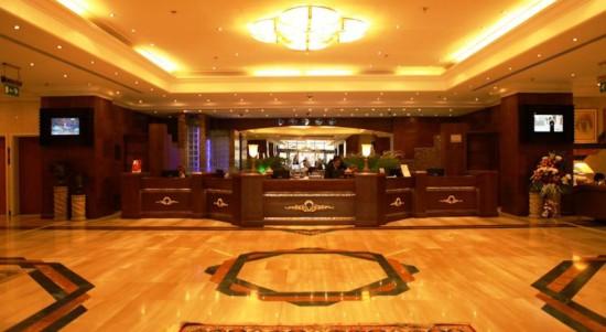 لابی هتل آبجار دبی