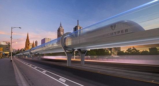 مسیر زمینی سیدنی به ملبورن در 55 دقیقه