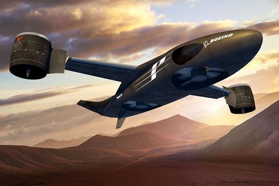 بوئینگ هواپیمایی جدید و متفاوت را طراحی کرد