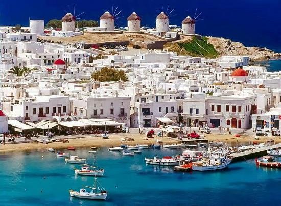پاروس ، جزیره یونانی زیبا در دریای اژه