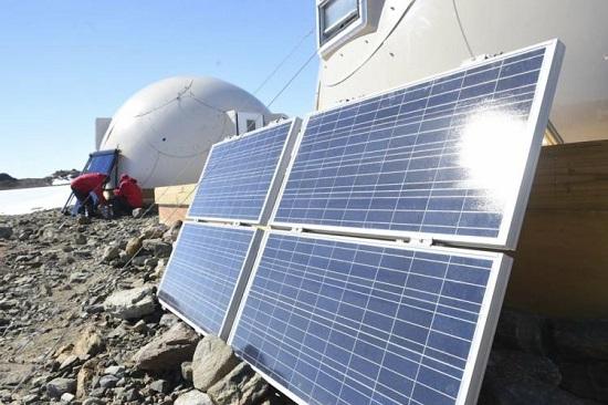 تأمین برق اقامتگاه با استفاده از انرژی بادی و خورشیدی