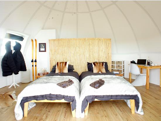 اتاق خواب های 2 نفره اقامتگاه